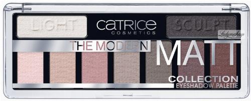 Catrice - THE MODERN MATT COLLECTION EYESHADOW PALETTE - 9 Eyeshadows