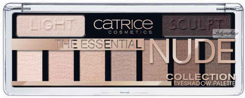 Catrice - THE ESSENTIAL NUDE COLLECTION EYESHADOW PALETTE - Paleta 9 cieni do powiek