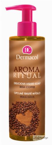 Dermacol - AROMA RITUAL - LIQUID SOAP - IRISH COFFEE - Mydło w płynie o zapachu irlandzkiej kawy