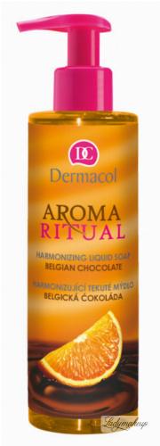 Dermacol - AROMA RITUAL - LIQUID SOAP - BELGIAN CHOCOLATE - Mydło w płynie o zapachu belgijskiej czekolady i pomarańczy