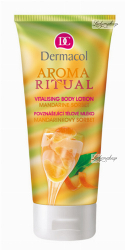Dermacol - AROMA RITUAL - VITALISING BODY LOTION - MANDARINE SORBET