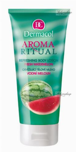 Dermacol - AROMA RITUAL - REFRESHING BODY LOTION - FRESH WATERMELON - Balsam do ciała o zapachu arbuzowym