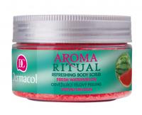 Dermacol - AROMA RITUAL - REFRESHING BODY SCRUB - FRESH WATERMELON