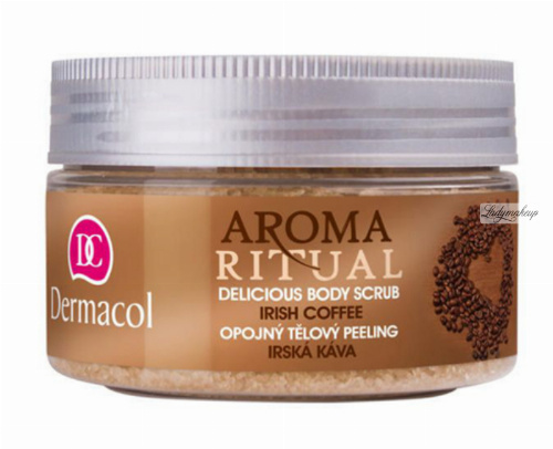 Dermacol - AROMA RITUAL - DELICIOUS BODY SCRUB - IRISH COFFEE