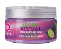 Dermacol - AROMA RITUAL - STRESS RELIEF BODY SCRUB - GRAPE & LIME - Scrub do ciała o zapachu winogron i limonki