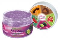 Dermacol - AROMA RITUAL - STRESS RELIEF BODY SCRUB - GRAPE & LIME - Scrub do ciała o zapachu winogron i limonki