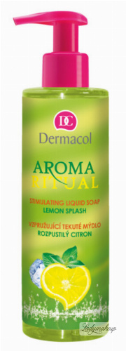 Dermacol - AROMA RITUAL - LIQUID SOAP - LEMON SPLASH