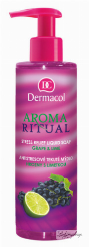 Dermacol - AROMA RITUAL - LIQUID SOAP - GRAPE & LIME