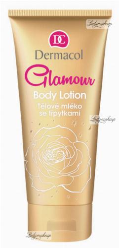 Dermacol - GLAMOUR BODY LOTION - Nawilżający balsam do ciała ze złotymi drobinami