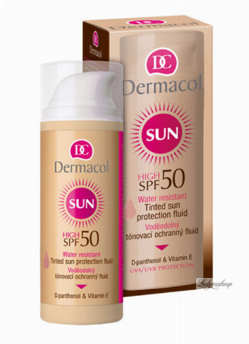 Dermacol - Tinted Waterproof Foundation - SPF 50