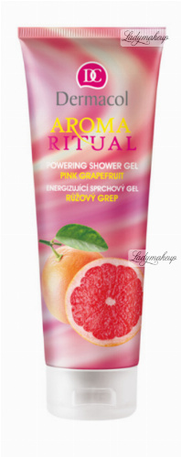 Dermacol - AROMA RITUAL - POWERING SHOWER GEL - PINK GRAPEFRUIT