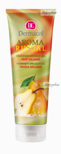 Dermacol - AROMA RITUAL - DELICIOUS SHOWER GEL - PEAR WILLIAMS