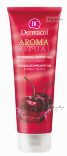 Dermacol - AROMA RITUAL - ENERGIZING SHOWER GEL - BLACK CHERRY