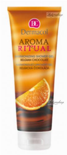 Dermacol - AROMA RITUA - HARMONIZING SHOWER GEL - BELGIAN CHOCOLATE - Żel pod prysznic o zapachu belgijskiej czekolady i pomarańczy