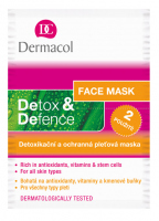 Dermacol - Detox & Defense Face Mask - Detoxifying Face Mask