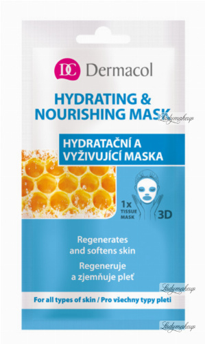 Dermacol - HYDRATING & NOURISHING FACE TISSUE MASK - Hydrating and Nourishing Sheet Mask