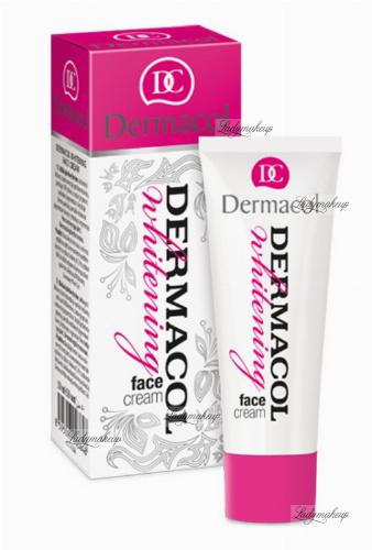 Dermacol - WHITENING FACE CREAM - Wybielający krem na dzień i noc