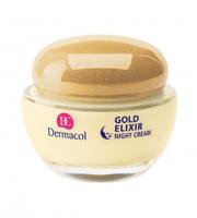 Dermacol - GOLD ELIXIR - REJUVENATING CAVIAR NIGHT CREAM - Kawiorowy krem odmładzający na noc