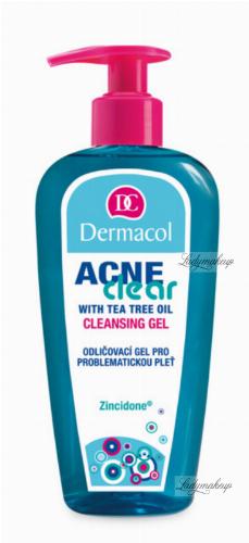 Dermacol - Acne Clear - CLEANSING GEL - Żel do mycia twarzy do cery trądzikowej