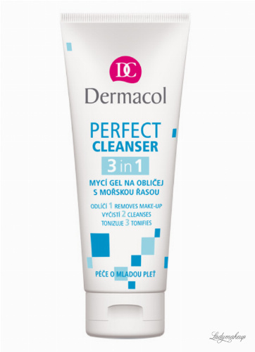 Dermacol - PERFECT CLEANSER 3in1 - Żel do mycia twarzy