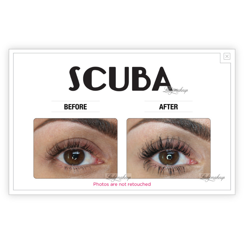448fd567c08 The Balm - SCUBA - Water Resistant Black Mascara
