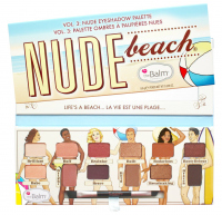 The Balm - NUDE BEACH - Nude Eyeshadow Palette - Paleta 12 cieni do powiek