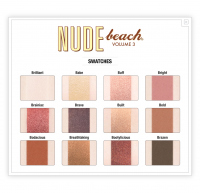The Balm - NUDE BEACH - 12 eyeshadows