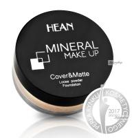 HEAN - MINERAL MAKE UP - Cover&Matte Loose Powder Foundation - Mineralny sypki podkład kryjąco-matujący