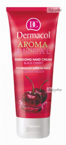 Dermacol - AROMA RITUAL - ENERGIZING HAND CREAM - BLACK CHERRY - Nawilżający krem do rąk o zapachu czereśniowym