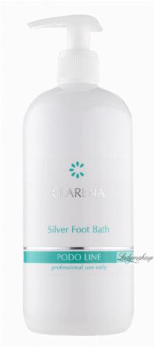 Clarena - Silver Foot Bath - PODO LINE - Profesjonalny srebrny płyn do kąpieli stóp - 3000