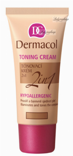 Dermacol - TONING CREAM 2in1 - Moisturizing cream and primer