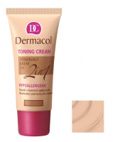Dermacol - TONING CREAM 2in1 - Moisturizing cream and primer - BISCUIT - BISCUIT