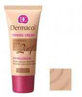 Dermacol - TONING CREAM 2in1 - Krem nawilżający i podkład w jednym - DESERT - DESERT