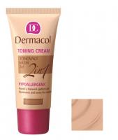 Dermacol - TONING CREAM 2in1 - Krem nawilżający i podkład w jednym - NATURAL - NATURAL