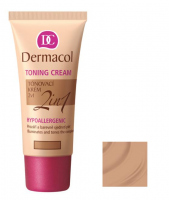 Dermacol - TONING CREAM 2in1 - Krem nawilżający i podkład w jednym - BRONZE - BRONZE