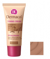 Dermacol - TONING CREAM 2in1 - Moisturizing cream and primer - CARAMEL - CARAMEL