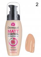 Dermacol - MATT CONTROL - Długotrwały podkład matujący - 2 - 2