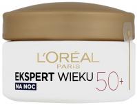 L'Oréal - EKSPERT WIEKU - Potrójna moc - Przeciwzmarszczkowy krem ujędrniający na noc 50+