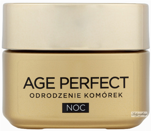 L'Oréal - AGE PERFECT - Cell Regeneration - Rebuilding and stimulating cell renewal cream for night 50+
