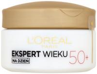 L'Oréal - EKSPERT WIEKU - Potrójna moc - Przeciwzmarszczkowy krem ujędrniający na dzień 50+