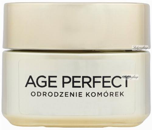 L'Oréal - AGE PERFECT - Odrodzenie komórek - Krem odbudowujący i stymulujący odnowę komórek na dzień 50+