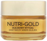 L'Oréal - NUTRI-GOLD - Oil Ritual - Night cream-mask - Dry skin