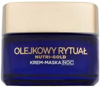 L'Oréal - NUTRI-GOLD - Olejkowy rytuał - Krem-maska do twarzy na noc