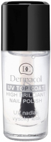 Dermacol - UV TOP COAT - High Brilliant Nail Polish