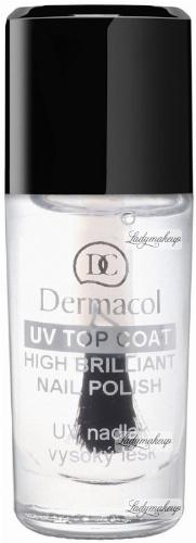 Dermacol - UV TOP COAT - High Brilliant Nail Polish - Lakier nawierzchniowy