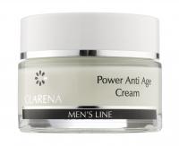 Clarena - Power Anti Age Cream - MEN'S LINE - Krem przeciwzmarszczkowy dla mężczyzn - 3009