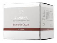 Clarena - Pumpkin Cream - ECO LINE - Krem nawilżająco-regeneracyjny z dyni - 2213