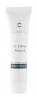 Clarena - CC Cream Almond - PERFECT FINISH LINE - Kryjący podkład do cer naczyniowych - 1551 - 10 ml
