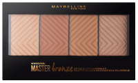 MAYBELLINE - Master Bronze Palette - COLOR & HIGHLIGHTING KIT - 20