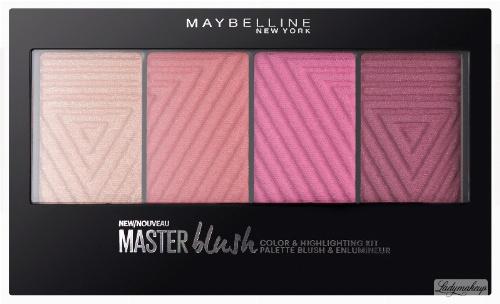 MAYBELLINE - Master Blush Pallette - COLOUR & HIGHLIGHTING KIT - Paleta do makijażu 10